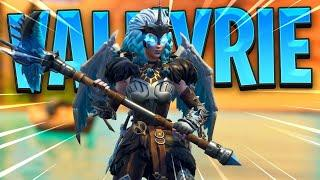 New Valkyrie Skin Gameplay Showcase ( Female Ragnarok) Out now in item shop Fortnite Season 5!!