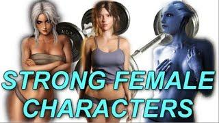 For All The Beautiful Ladies Out There! - Strong, Beautiful Female Video Game Characters!