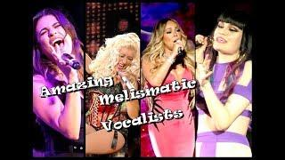 Greatest Melismatic Female Singers