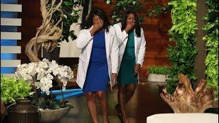 Ellen Meets Inspiring Twin Doctors Brittani and Brandi