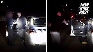 Female cop shot point-blank by gang member during traffic stop