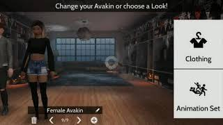 How to become a boy and being in a female avakin????