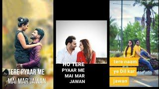 Tere Pyaar me....Female Version Full Screen Whatsapp Status Video | new love status