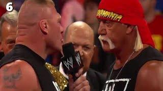 When Brock Lesnar Speaks - WWE Top 10