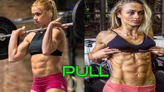 PULL - CROSSFIT FEMALE MOTIVATION