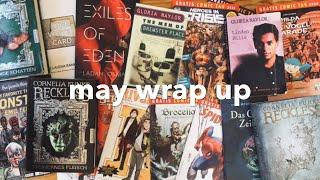 May Wrap Up | Female Writers I Admire & Trashy Comic Books!