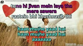 Jo Bhi Kasme Khayi Thi Humne Raaz Semi Vocal Female Video Karaoke Lyrics