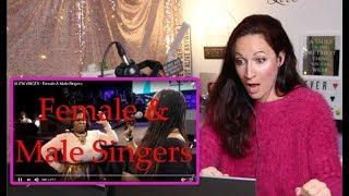 Vocal Coach REACTS to ALIEN VOICES- FEMALE & MALE SINGERS!