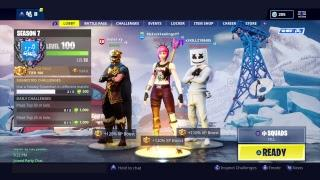 Underrated Female Player|Season 7 Grinddd :)) // First Female To Level 100 //With Friendss