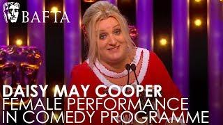 Daisy May Cooper wins Female Performance in a Comedy Programme | BAFTA TV Awards 2018
