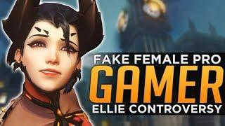 Overwatch: FAKE Female Pro Player Controversy!