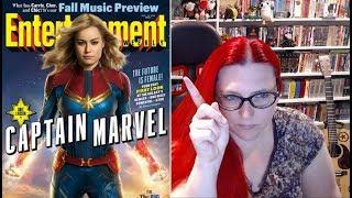 Random Reacts : Captain Marvel - The Future Is NOT Female!