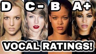 FEMALE SINGERS | VOCAL RATINGS!