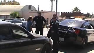 5 Officers Vs 1 Female(Show Of Force,Sergeant Playing It Cool)W SJVT-1st Amendment Audit Bakersfield