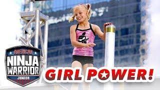 Top Female Ninjas FACE-OFF on the Course! | American Ninja Warrior Junior | Universal Kids