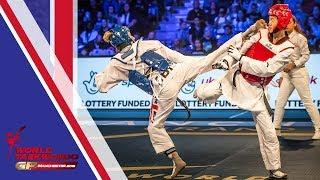Manchester 2018 World Taekwondo GP-Final [Female -57Kg] JONES, JADE(GBR) vs ZHOU, LIJUN(CHN)
