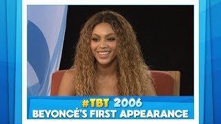 #TBT Beyoncé's First Ellen Show Appearance