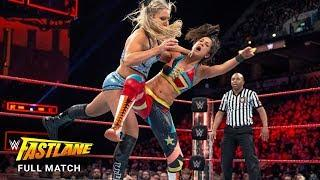 FULL MATCH - Bayley vs. Charlotte Flair - Raw Women's Title Match: WWE Fastlane 2017