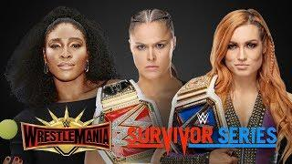 Huge Champion vs Champion at Survivor Series! Serena Williams at WrestleMania? | News and Rumors