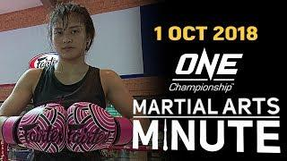 ONE: Martial Arts Minute | 1 October 2018