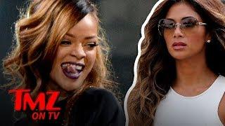 Nicole Scherzinger Congratulates Rihanna On Being The Richest Female Artist | TMZ TV