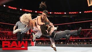 Banks & Bayley vs. Fox & Cross - WWE Women's Tag Title Qualifying Match: Raw, Feb. 4, 2019