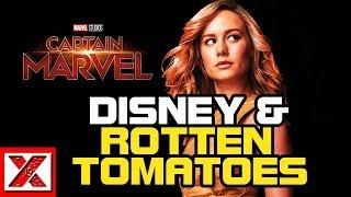 Brie Larson's Captain Marvel Rotten Tomatoes CENSORSHIP Was By Former Disney Exec Fandango Pres?!