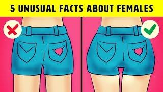 5 Unusual Facts About Females That Are Totally True
