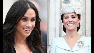 Meghan Markle and Kate to have FIRST 'girl's day out' TOGETHER at Wimbledon Ladies Final