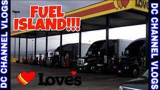 TRUCKERS SPEAK OUT ON DEFENDING FEMALE TRUCKER AT THE LOVE'S TRUCK STOP  / VLOG
