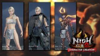 NIOH 2 - CHARACTER CREATION | FEMALE - Beta Version [2019]