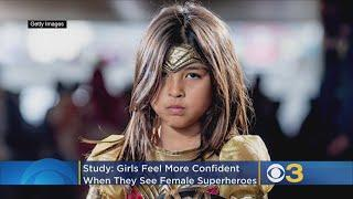 Female Superheroes Make Young Girls Feel More Confident, Finds Study