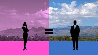 Women Hold Up Half The Sky (Pink Blue and Purple Series Video 3)