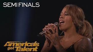 "Glennis Grace: Singer Performs Powerful ""This Woman's Work"" - America's Got Talent 2018"