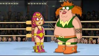 Peter Becomes a Female Wrestler! Funny Moments 10MinHD
