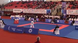Karate1 Series A - Santiago 2018: Female Kata Final, Hikaru Ono (Japan) vs Sandora Sanchez (Spain)