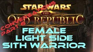 swtor Sith Warrior Light Side Female conversations part 6