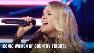 Carrie Underwood, Maddie & Tae, & Runaway June | Classic Women of Country Tribute | 2018 CMTAOTY