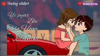 Isme - tera - ghata - female version // sad whatsapp status video ( by feeling status7)