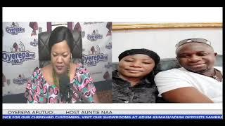 MAN CHOP WOMAN MONEY, {OYEREPA AFUTUO. AUNTIE NAA) 30-11-2018