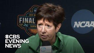 Muffet McGraw, Notre Dame coach, pleads for gender equality