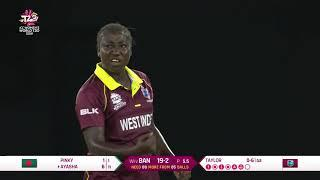 West Indies v Bangladesh - Women's World T20 2018 highlights