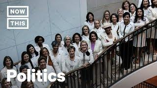 Why Women Democrats Wore White to Trump's State of the Union | NowThis