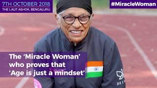 Sardarni Man Kaur - India's oldest female athlete; 102 not out!