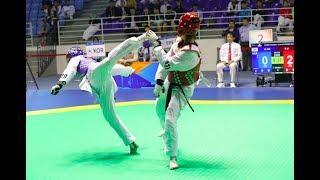 Female  57kg | Round of 32|Min jeong KIM(KOR)VS Xiaojie LI (CHN)