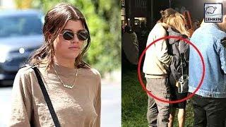 Sofia Richie Looks Super Pisses After Scott Disick Spotted With Another Girl | Lehren Hollywood