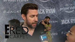 "John Krasinski Is ""Mad Buff"" in New Series ""Jack Ryan"" 