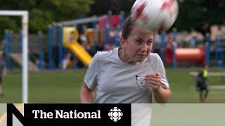 Girls shouldn't head soccer balls: study