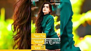 Female Version Sad + Love Song Full Screen Whatsapp Status Video || ReturnofTikTok,Win Cash Prize