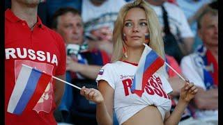 Hot female fans at World Cup steal show in Russia vs Saudi Arabia